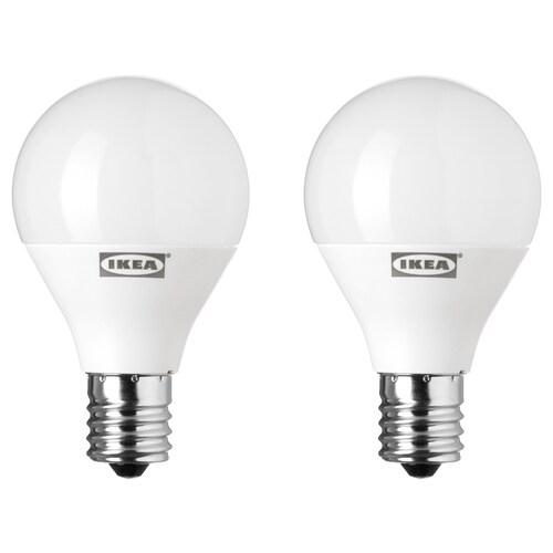 RYET LED bulb E17 200 lumen globe opal white 200 lm 2 pack