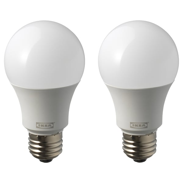 RYET LED bulb E26 1000 lumen, globe opal white, 5000K