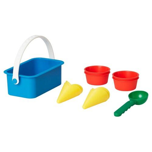 SANDIG 10-piece toy ice cream set