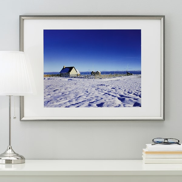 SILVERHÖJDEN Frame, silver-colour, 50x70 cm