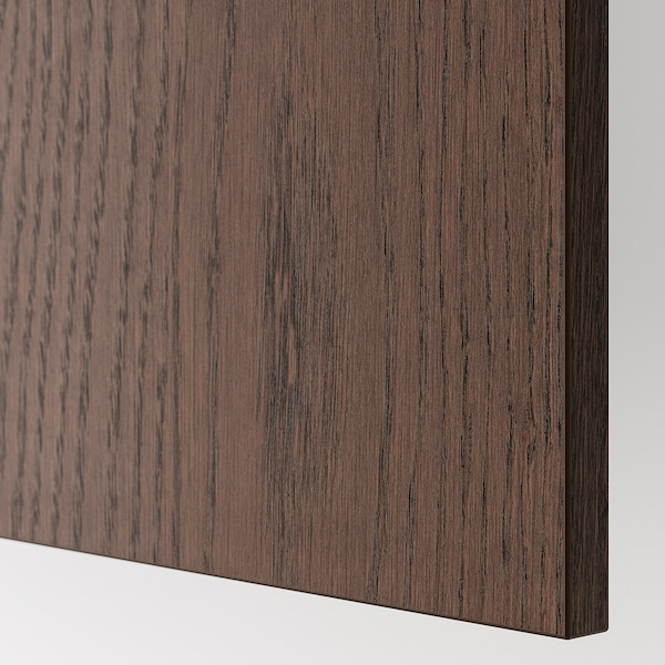 SINARP Cover panel, brown, 39x86 cm