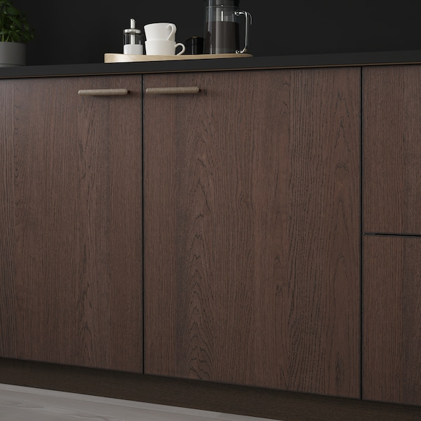 SINARP Door, brown, 40x60 cm