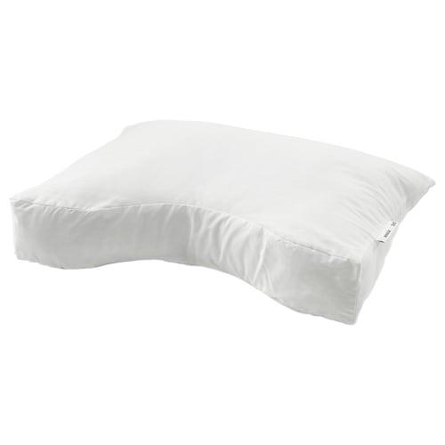 SKOGSLÖK ergonomic pillow, multi position 40 cm 55 cm 350 g 415 g