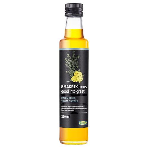 SMAKRIK rapeseed oil thyme 250 ml