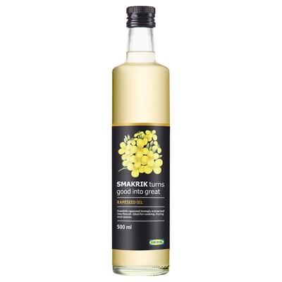 SMAKRIK Rapeseed oil, 500 ml
