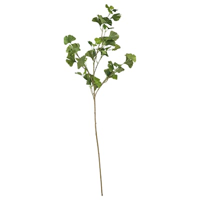 SMYCKA Artificial flower, Ginkgo/green, 125 cm