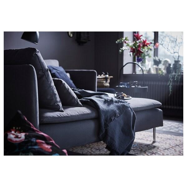 SÖDERHAMN chaise longue Samsta dark grey 93 cm 151 cm 83 cm 93 cm 100 cm 40 cm