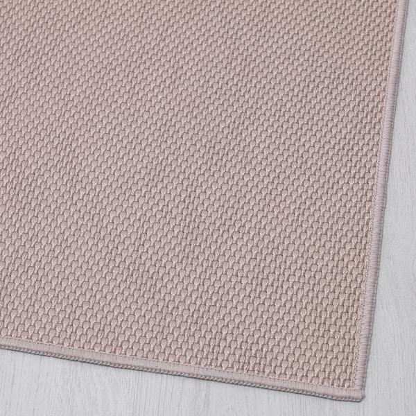 SÖLLINGE rug, flatwoven beige 150 cm 65 cm 3 mm 0.98 m² 1500 g/m²