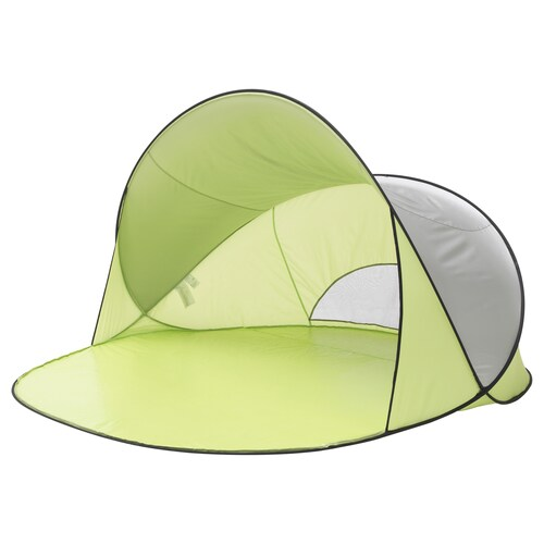 SOMMARVIND pop-up sun/wind shelter light green 230 cm 200 cm 130 cm 2.05 kg
