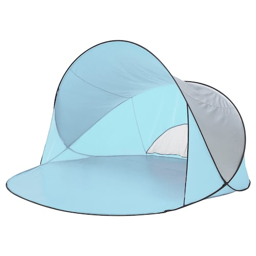 SOMMARVIND pop-up sun/wind shelter light blue 230 cm 200 cm 130 cm 2.05 kg
