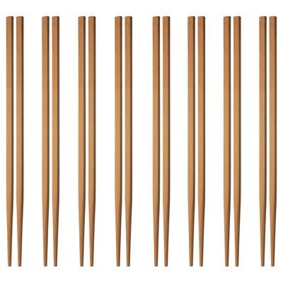 SPLITTRA Chopsticks 8 pairs, bamboo