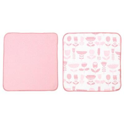 STEKNING Dish-cloth, pink