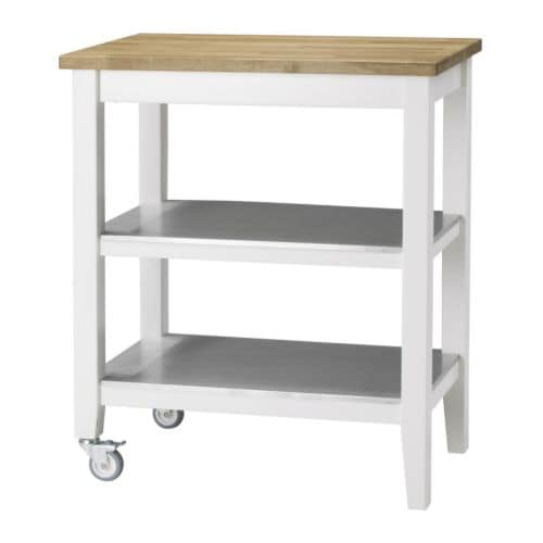 STENSTORP Kitchen trolley IKEA Gives you extra storage, utility and work space.