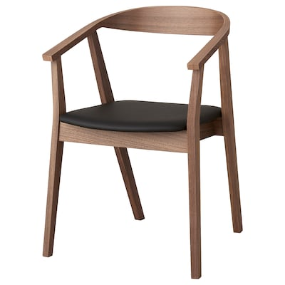 STOCKHOLM Chair, walnut effect