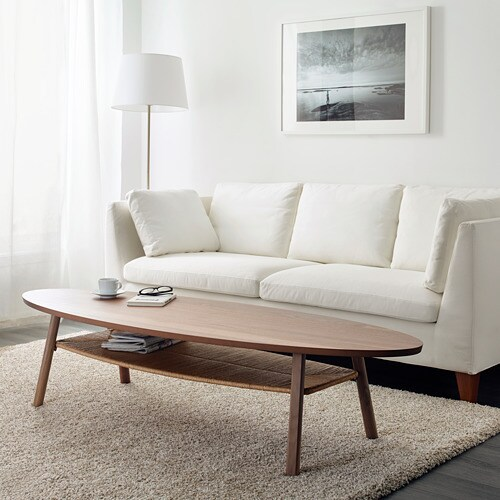 STOCKHOLM - Coffee table, walnut veneer