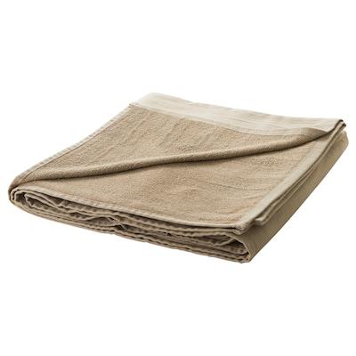 STRANDVALLMO Quilt, beige, 140x190 cm