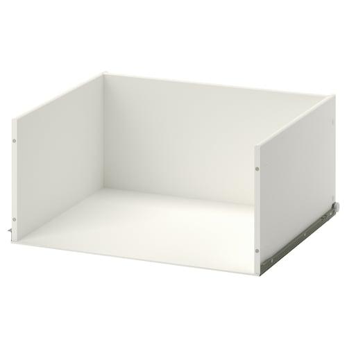 STUVA GRUNDLIG drawer without front white 32 cm