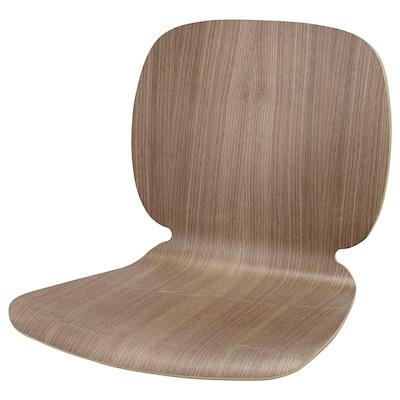 SVENBERTIL Seat shell, walnut