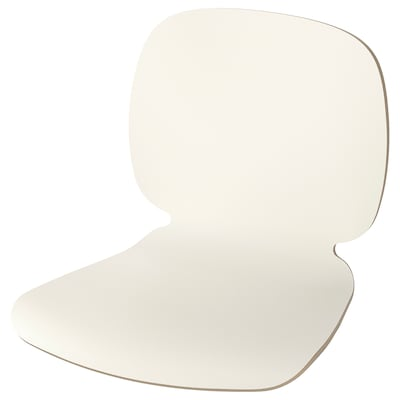 SVENBERTIL Seat shell, white