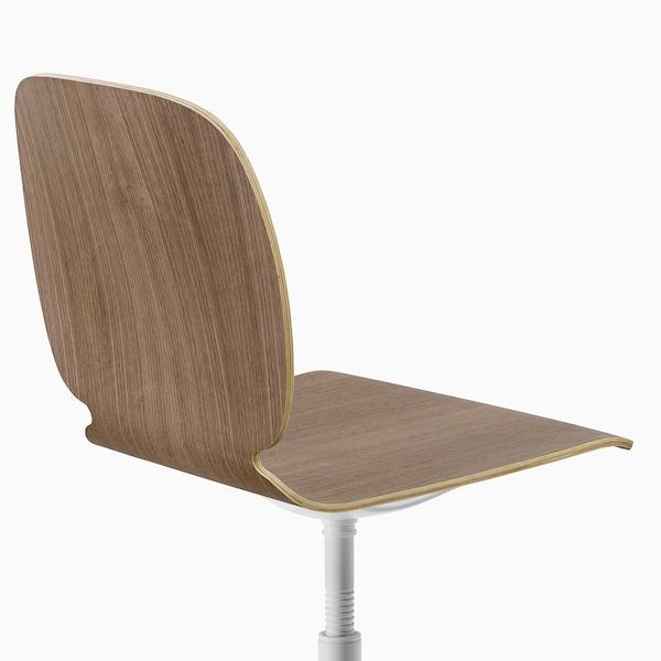 SVENBERTIL Swivel chair, walnut/Balsberget white