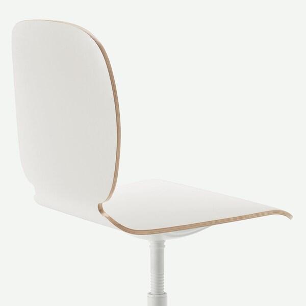 SVENBERTIL Swivel chair, white/Balsberget white