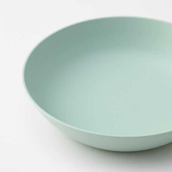 TALRIKA Deep plate, light green, 20 cm
