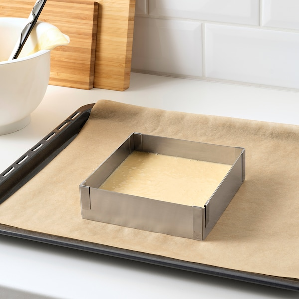 TÅRTBAK Baking frame, adjustable, 30x30 cm