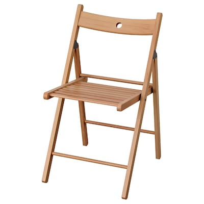 TERJE Folding chair, beech