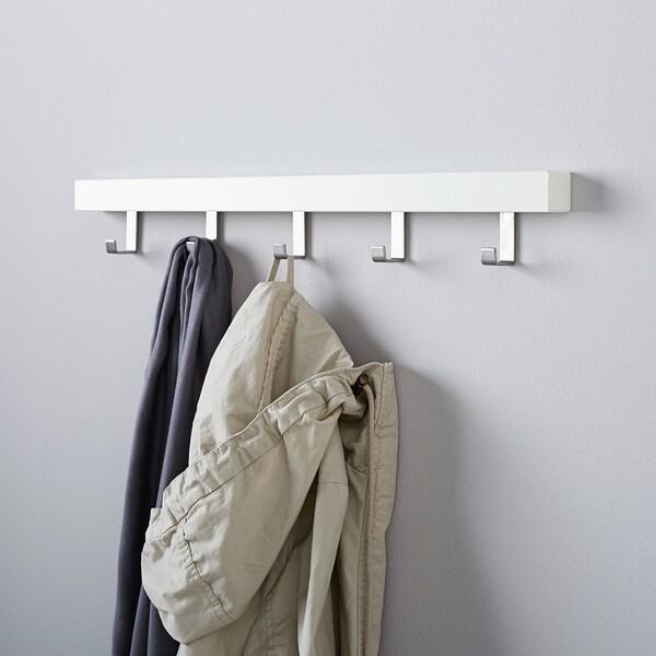 TJUSIG hanger for door/wall white 60 cm 4 cm 8 cm