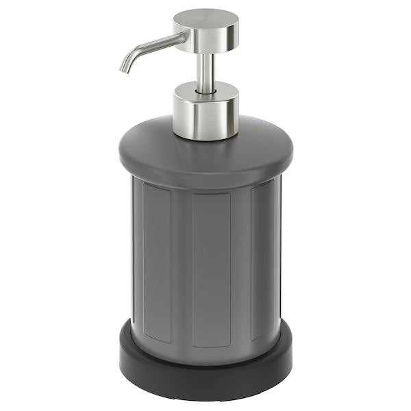 TOFTAN Soap dispenser, grey