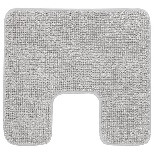 TOFTBO pedestal mat grey-white mélange 55 cm 60 cm 0.33 m²