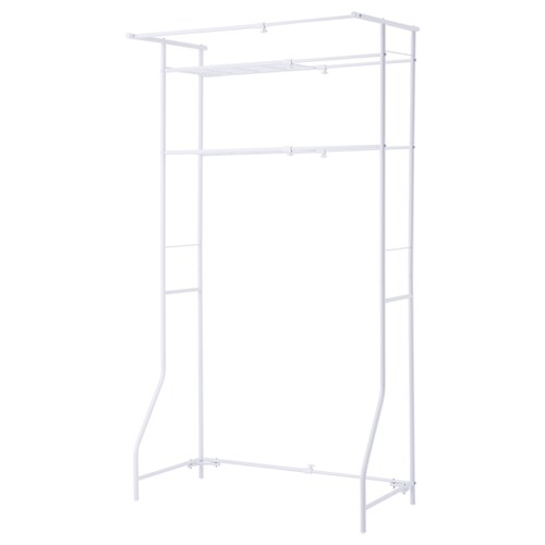 TORGNY shelf white 60 cm 93 cm 51.0 cm 170 cm 10 kg