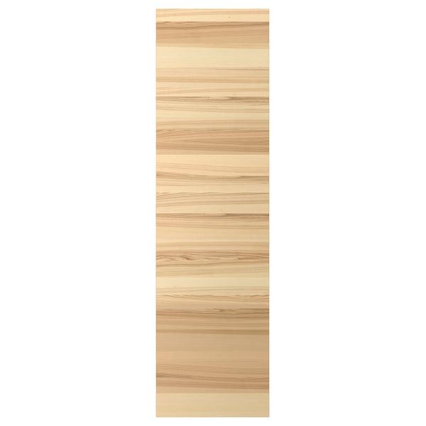 TORHAMN Cover panel, natural ash, 63x220 cm