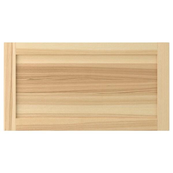 TORHAMN Drawer front, natural ash, 75x40 cm