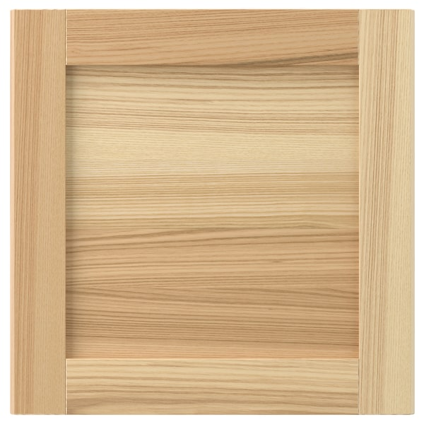 TORHAMN Drawer front, natural ash, 40x40 cm