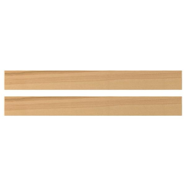 TORHAMN Drawer front, natural ash, 90x10 cm