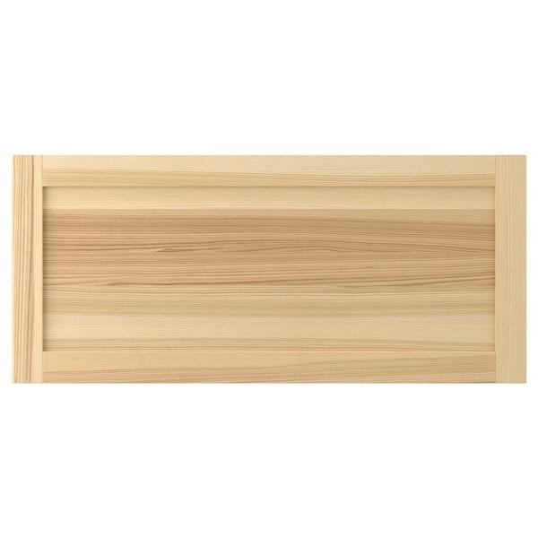 TORHAMN Drawer front, natural ash, 90x40 cm