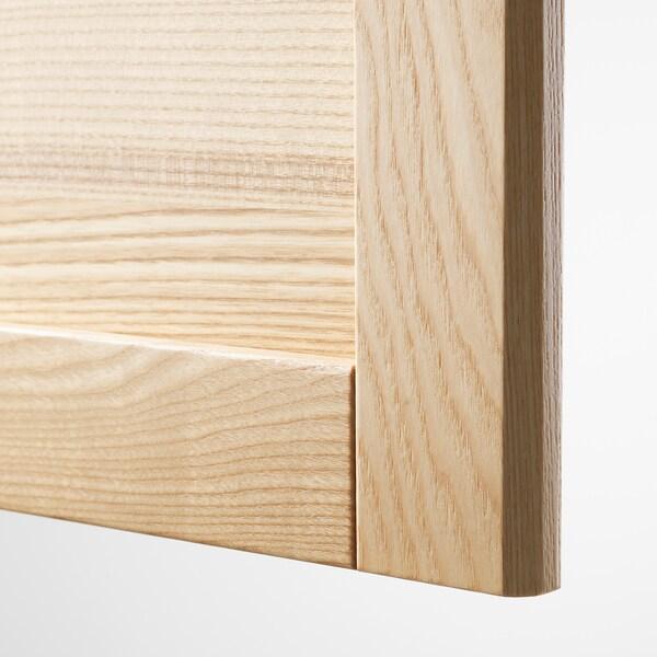 TORHAMN Drawer front, natural ash, 40x20 cm