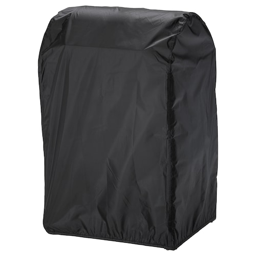 TOSTERÖ cover for barbecue black 72 cm 52 cm 111 cm