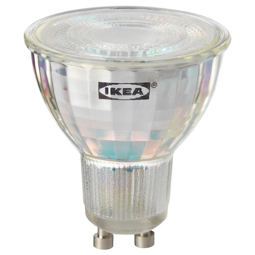 TRÅDFRI LED bulb GU10 400 lumen wireless dimmable white spectrum 400 lm 2700 K 5 cm 5 cm 5.8 cm 5.0 W