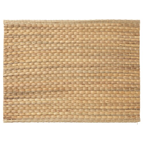 UNDERLAG place mat water hyacinth/natural 35 cm 45 cm