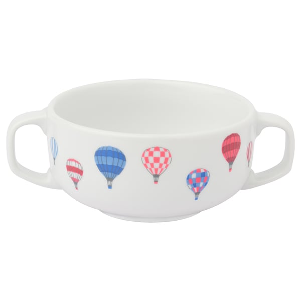 UPPTÅG Bowl with handles, 10 cm