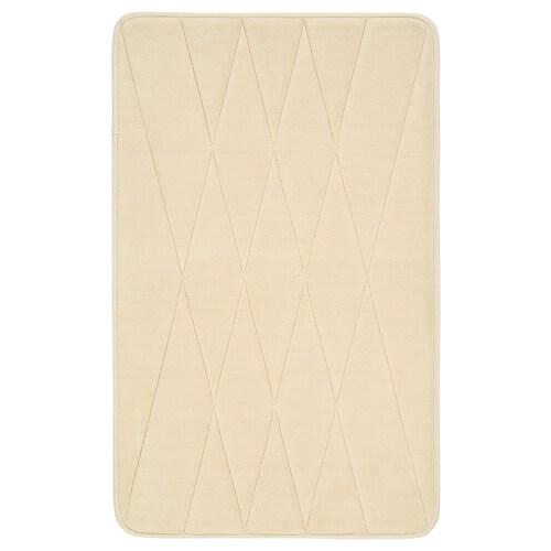 UPPVAN bath mat beige 60 cm 40 cm 0.24 m² 1450 g/m²