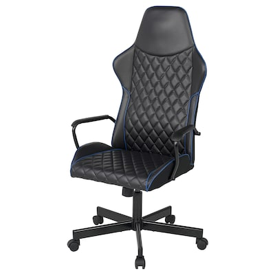 UTESPELARE Gaming chair, Bomstad black