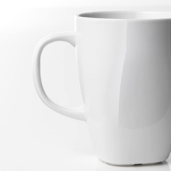 VÄRDERA mug white 11 cm 30 cl