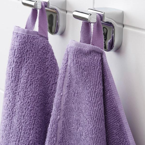 VÅGSJÖN hand towel purple 100 cm 50 cm 0.50 m² 400 g/m²