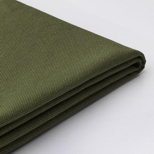 VALLENTUNA Cover for backrest, Orrsta olive-green, 80x80 cm