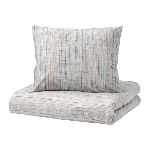 VÅRÄRT Quilt cover and 2 pillowcases   200x200/50x60 cm   IKEA