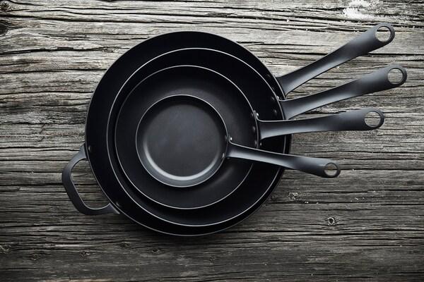 VARDAGEN Frying pan, carbon steel, 20 cm