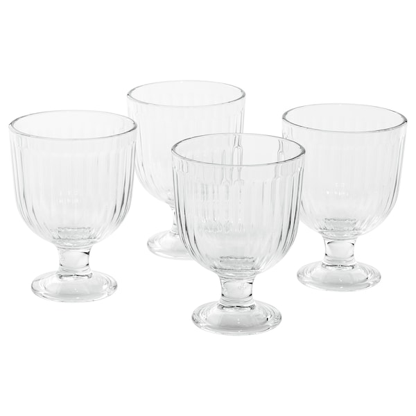 VARDAGEN Goblet, clear glass, 28 cl